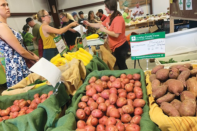 The first day of the farmers market at Scissortail Park is April 4. - PROVIDED