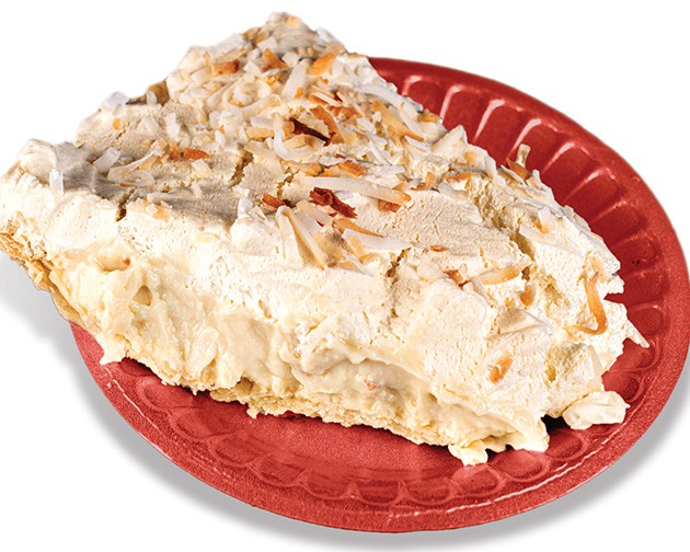 Coconut cream is among the most popular pies at Philly Homa. - PHILLIP DANNER