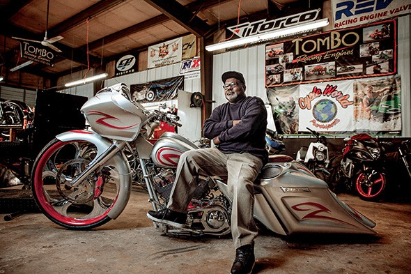 Tommy Bolton was the first African American motorcycle racer to go faster than 200 miles per hour in a quarter mile. - NEISHA T. FORD