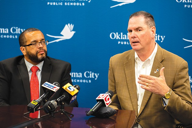 OKCPS hosts public work sessions to get input on its strategic plan and a teacher fair for recruitment. - MIGUEL RIOS