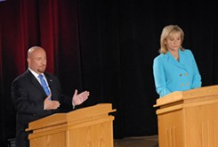 Nothing unexpected in only debate of governor's race