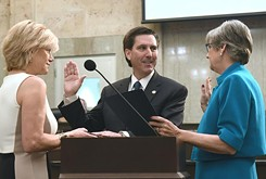 BLOG: Stonecipher, reelected councilors, take oath