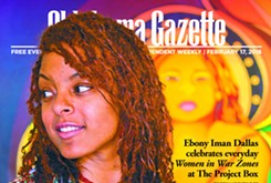 Cover Teaser: Ebony Iman Dallas celebrates Women in War Zones with local exhibit