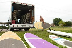 Paddleboard rental company making waves in OKC