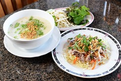 Despite 'pizza' on its menu, Gia Gia serves real Vietnamese cuisine