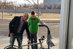 VIDEO: New bike repair station in Midtown