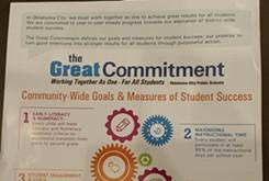 Great Conversation goals announced at lawmaker breakfast