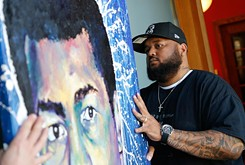 Lawton artist brings larger-than-life work to Paseo