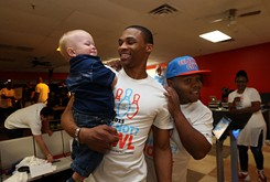 Russell Westbrook asks Why Not?, helps children through foundation