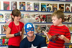 Comic shop hosts heroes, fans of all ages