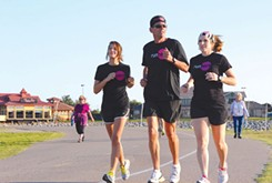 Running gaining in popularity around the metro area