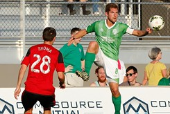As OKC's soccer team hits the halfway mark of the season, going to the playoffs seems certain.
