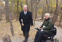 Accessibility project launched at Martin Park
