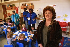 Uncle Sam brings food to table for adult, child care programs