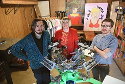 Local artists make wearable art