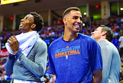 Oklahoma City Thunder's Thabo Sefolosha is on the top of his game when it comes to charity.