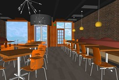 Saturn Grill's original Nichols Hills location, 6432 Avondale Drive, will be a cooler place to eat at once its redesign is finished.