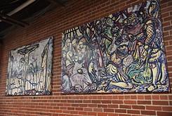 City Rescue Mission displays religious art