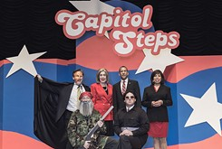 Politics and satire take center stage with Capitol Steps and this year's Mock the Vote performance.