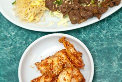 If you long for Korean cuisine <em>and</em> shopping, OK Ko-Mart has both