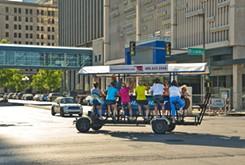 Bricktown Bike bar back for second year