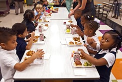 Free lunch for every child targets marginal students