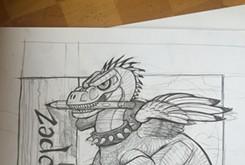 Oklahoma City Thunder caricature artist still chasing his dreams