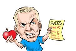Chicken-Fried News: Bad grades?
