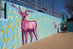 Classen Ten Penn neighborhood, Plaza District, local artists rally to return art to Eugene Field Elementary