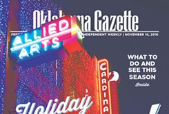 Cover Teaser: HOLIDAY CHEER! What do, see, eat and drink this season