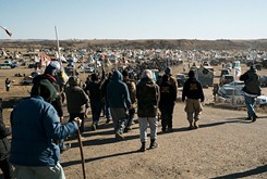 Dakota pipeline protests swell local and national sovereignty and human rights struggles