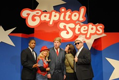 Orange Steps, Capitol Steps brings its newest show to OCCC's Visual and Performing Arts Center.