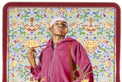 A conversation invites the community to explore the powerful message behind Kehinde Wiley: A New Republic.