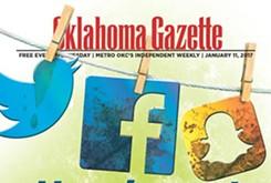 Cover Teaser: Oklahoma Gazette examines social media usage and etiquette