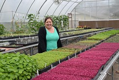 Popular local radio host also dedicates her time to sustainable farming