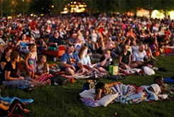 Sonic Summer Movies gives families a chance to stretch out in the grass for an outdoor screening