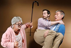Jewel Box Theatre's dark comedy <em>37 Postcards</em> gives sharp takes on family and loss