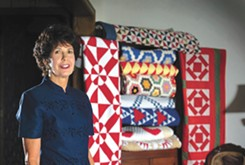 A local collector traces hippie history in a quilt exhibit at OCCC