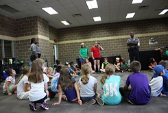 Police and local organization foster relationships with area youth