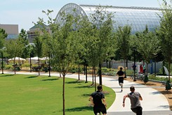 Myriad Gardens' new health and wellness initiative offers myriad reasons to get outside and eat well