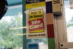 Rate of tobacco sales to minors continues to climb
