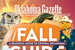 Cover Teaser: Oklahoma Gazette's Fall Guide features more than two months of event listings and stories about fall attractions throughout the state