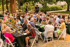 Myriad Gardens' Dining Series gets fresh with Summer Vegetarian Dinner by chef Ryan Parrott.