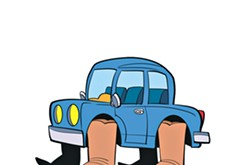 Chicken-Fried News: Perilous parking