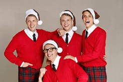 Jewel Box Theatre's <em>Plaid Tidings</em> sees legendary '50s singers return to Earth for the holidays