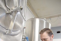 Brothers-in-law hop into beer making with Norman's Lazy Circles Brewing taproom