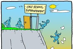 Cartoon: Abandon hope all ye who enter here