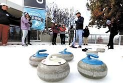 Successful Oklahoma curling clubs teach the basics at Winter Olympics Expo