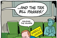 Cartoon: Release the hounds