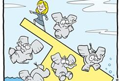 Cartoon: Republican election strategy